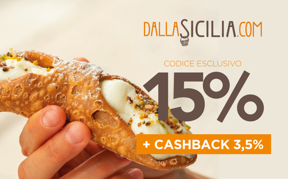 Esclusivo codice sconto DallaSicilia.com