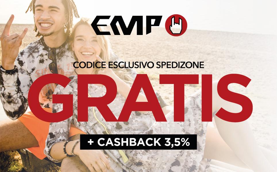 Approfitta della spedizione gratuita su EMP