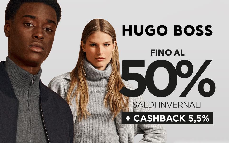 Fino al 50% grazie ai saldi estivi di HUGO BOSS