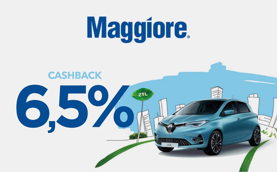 Speciale extra Cashback Maggiore Autonoleggio