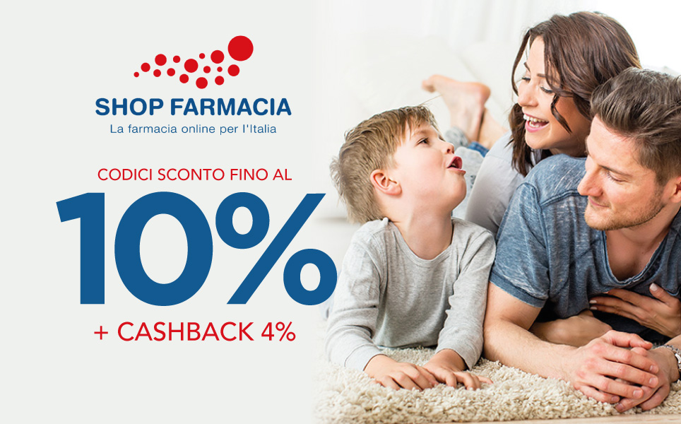 Risparmia fino al 10% su Shop Farmacia